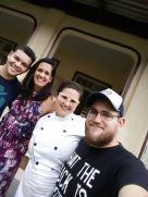 Eduardo e Andréa são amigos queridos da Bahia que moram em Blumenau